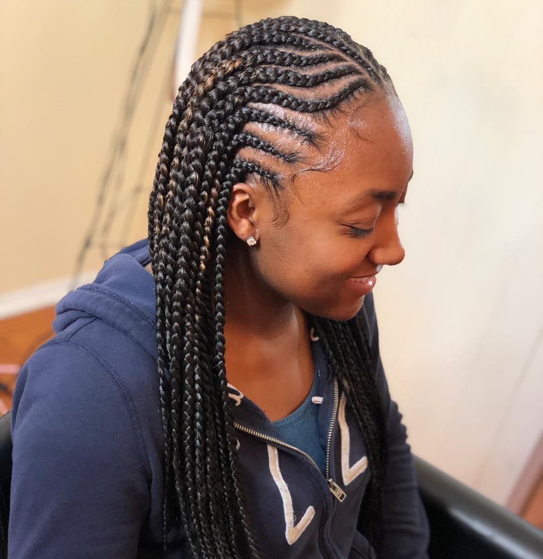 20 Best Cornrow Braid Hairstyles for Women in 2020 - styles 2d